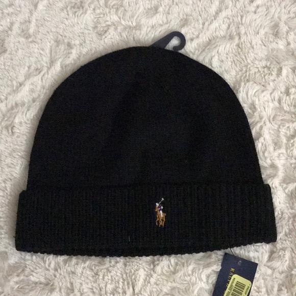 b9166473ba2 Polo Ralph Lauren Merino Wool Hat OS
